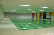 Piscina de la piscina cubierta de Bertamiráns (Ames)