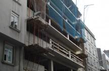 Edificio de viviendas en la calle Perú (A Coruña)