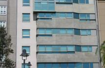 Edificio de viviendas en la Calle Argentina (A Coruña)